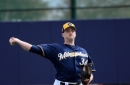 Brewers cut roster down to 25 ahead of Opening Day, option Jake Petricka to Triple-A
