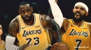 Video: LeBron James' no-look bounce pass to Lakers' JaVale McGee