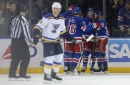 Blues Vs. Rangers Recap