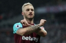 Marko Arnautovic has been phoning West Ham fans to try win back love