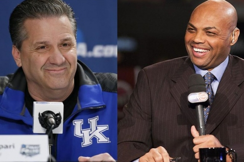 John Calipari says he peed on Charles Barkley's statue