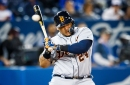 Tigers' Miguel Cabrera leaves game after being hit by pitch on hand