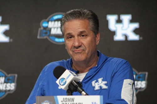 John Calipari & Wildcats preview Auburn