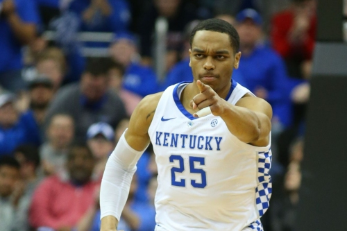 Kentucky's season ends in Elite Eight