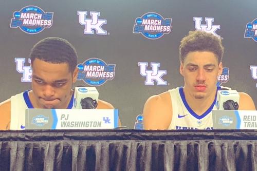 John Calipari & Wildcats recap Elite Eight loss