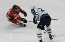 Blackhawks hope to falter Jets on April Fool's Day