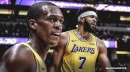 Rajon Rondo, JaVale McGee say injuries have been 'crazy' for Lakers this season