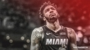 Heat's Derrick Jones Jr. suffers right knee injury vs. Celtics