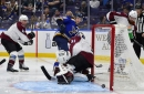 Avalanche Vs. Blues Recap
