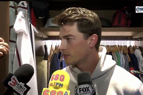 Max Fried, Nick Markakis discuss sweep of Cubs