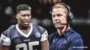 David Irving says Cowboys coach Jason Garrett is 'awkward' around black players
