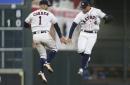 Game Recap. Astros Edge A's in Home Opener, 3-2