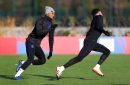 Manchester United fans love what Marcus Rashford and Jesse Lingard did at training