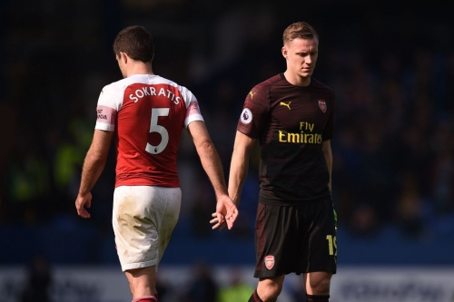 Unai Emery and Bernd Leno react to Everton defeat as Arsenal give Chelsea and Manchester United hope
