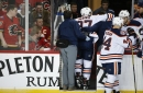 McDavid says outlook is 'fairly positive' after scary leg injury