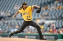 Pittsburgh Pirates pitcher Chris Archer denies that he used pine tar against Cincinnati Reds