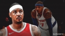 Carmelo Anthony reacts to Instagram trolls saying he's 'probably done'