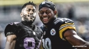 Antonio Brown deletes private message from JuJu Smith-Schuster on his Instagram account