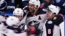 Seth Jones scores winner as Blue Jackets rally to beat Lightning in Game 1