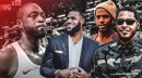 LeBron James, Chris Paul, Carmelo Anthony attend Heat star Dwyane Wade's final game