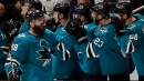 Karlsson, Burns lead Sharks to Game 1 win over Golden Knights