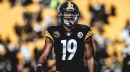 Steelers WR JuJu Smith-Schuster reaches out to a fan in need