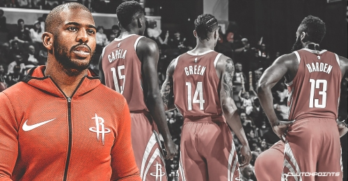 """Rockets' Chris Paul says making the playoffs is """"a different feeling"""""""