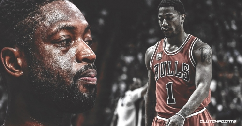 Heat legend Dwyane Wade talks about the first time he saw Bulls' Derrick Rose play