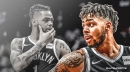 Nets guard D'Angelo Russell says 'If you're not with us, you're not with us'