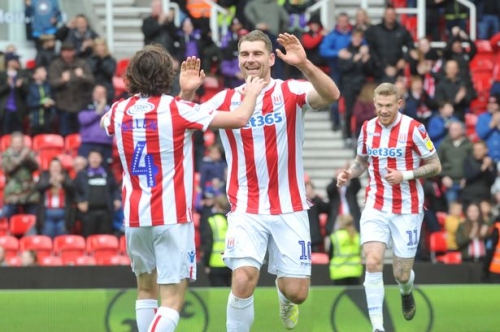 Stoke City striker admits to bitter/sweet experience game Rotherham