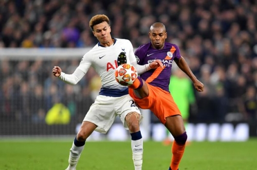 Fernandinho gives Man City major injury scare in Quadruple chase as he misses Crystal Palace game