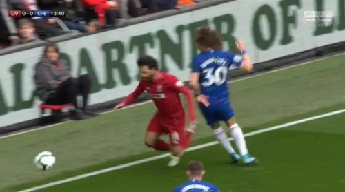 Mohamed Salah slammed for his dive during Liverpool's clash with Chelsea