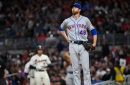 Tough night for Jacob deGrom, NY Mets' offense in loss to Braves