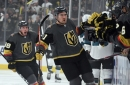 Hats fly as Mark Stone leads the charge for Golden Knights
