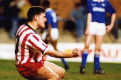 Stoke City fans and Lou Macari pay tribute to Paul Ware on anniversary