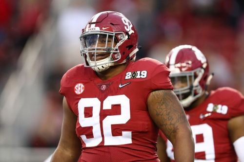 NFL Draft Profile: Defensive Tackle Quinnen Williams of Alabama