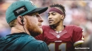 Carson Wentz is excited about adding DeSean Jackson to the Eagles offense