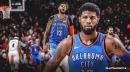 Thunder's Paul George claims shoulder is now pain-free