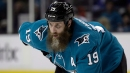 Sharks' Thornton suspended one game for hit on Golden Knights' Nosek