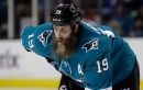 Sharks' Joe Thornton gets 1-game ban for illegal check to head