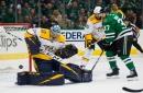 Stars come up short in Game 3, now trail in series vs. Predators