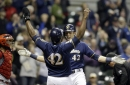 Yelich's 3 homers lift Brewers past Cardinals, 10-7