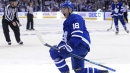 Andreas Johnsson looked confident replacing Kadri on Leafs PP