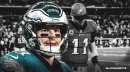 Eagles QB Carson Wentz is still recovering from his back injury