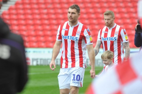 Stoke City front man casts half-an-eye to a promotion challenge next season