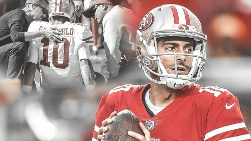 3 way-too-early bold predictions for 49ers QB Jimmy Garoppolo in 2019