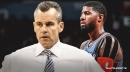 Thunder coach Billy Donovan confirms Paul George is cleared to play in Game 2 against Blazers