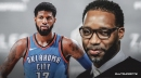 Tracy McGrady thinks Thunder star Paul George has a torn labrum in his shoulder