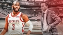 Rockets' Chris Paul reacts to Quin Snyder's compliment about his coaching ability