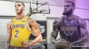 Lonzo Ball reveals that they lost to LeBron James 21-7 on first 5-on-5 Lakers practice with James scoring all 21